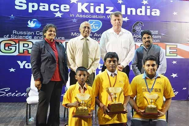Thoothukudi boy wins Young Scientist India title